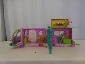 Disney Fairies Tinks Pixie Camper + Dolls Tinkerbell Friends + Accessories LOT