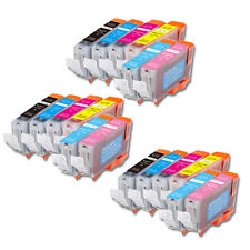 18 PK New Ink Set + Chip for CLI-8 Canon Pixma Color iP6600D iP6700D FAST SHIP