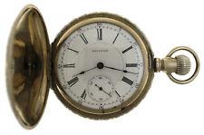 RARE Waltham Denver & Rio Grande Special Pocket Watch D&RG Hunter 18s 17j 3 STAR