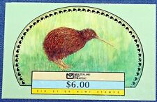 New Zealand Booklet Sc 918a 6/$1 Kiwi~1988~Mint Never Hinged/Og Vfine