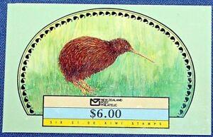 NEW ZEALAND BOOKLET SC 918a 6/$1 KIWI~1988~MINT NEVER HINGED/OG VFINE