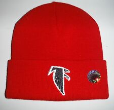 Atlanta Falcons NEW Authentic Beanie Toque Knit Hat NWT Red