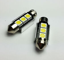 C5W 36MM 3 SMD LED CAN BUS OBC ERROR FREE Number Plate bulbs B
