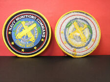 JACKET PATCH - NAVY MUNITIONS COMMAND CONUS WEST