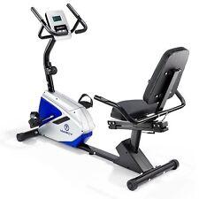 Marcy Azure RB1016 Recumbent Exercise Bike-Black/Blue/White/One Size