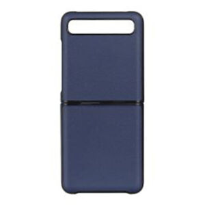 Phone Case Leather Back Battery Cover Protective Cases For Samsung Galaxy Z Flip