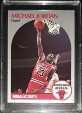 1990-91 MICHAEL JORDAN Chicago Bulls NBA Hoops Basketball Card #65