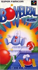 SNES / Super Famicom game - Bombuzal JAPAN boxed Box damaged
