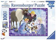 Disney Frozen 'Olaf' S Adventures' XXL 100 Piece Jigsaw Puzzle Game Brand New