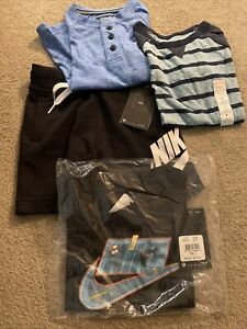 Lot Of New Boys Clothing, size 4, Nike, Hurley, Jumping Bean