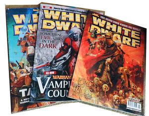 3 X  Games workshop White Dwarf magazines nos 262 339 279 good condition