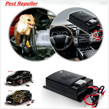 Car Truck Engine Ultrasonic Pest Mouse Rat Rodent Control Repeller Deterrent 12V