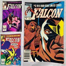 (Lot Of 3) The Falcon Vol. 1 No. 2, 3, 4 December 1983 Marvel Comics