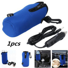 12V Universal Car Travel Milk Bottle Food Cup Warmer Heater for Baby Kids Blue