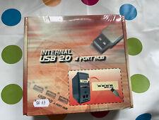 "Internal 5.25"" USB 2.0 4-Port Hub - SEALED - Free UK Postage"