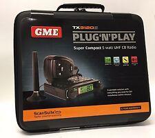 GME TX3120S  Plug 'N' Play Super Compact UHF CB Radio GME portalbe car to car