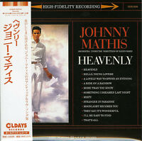 JOHNNY MATHIS-HEAVENLY-JAPAN MINI LP CD BONUS TRACK C94