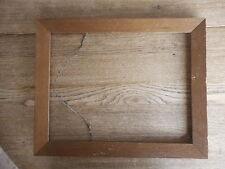 "Picture Frame Wood inside dim. apx 16 x 12.5"" Shabby Flea Market"