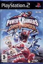 POWER RANGERS DINO THUNDER - PS2 NUOVO E SIGILLATO, PRIMA EDIZIONE