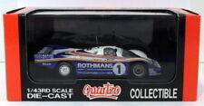 Coches de carreras de automodelismo y aeromodelismo color principal multicolor Porsche escala 1:43