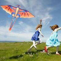 3D Dragon Kite With Tail Kites Flying Outdoor Kites 30m Kite Line For Kids Gift