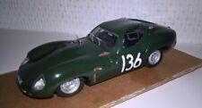 1/43 Jaguar Lister Ty.E N'ring '64 #136 Model Built home made by KIT Provence M.