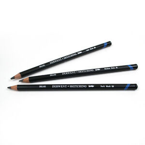 Derwent Artiste Soluble Dans L'Eau Croquis Crayons - Léger, medium Ou Foncé Wash