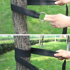Portable Hammock Straps Rope Hanging Strong Straps Belt Tree Strap Hooks N7
