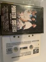 Pointer Sisters : Break Out : Vintage Cassette Tape Album from 1983