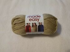 LION BRAND COLOR MADE EASY YARN, BULKY-5, IN WHEAT, 1 Skein
