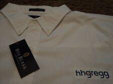 Men's ~ HHGREGG HH Gregg ~ Long Sleeve Oxford Dress Uniform Sales Shirt ~ NWT XL