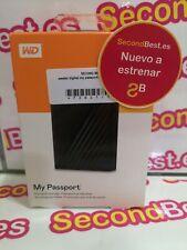 Disco duro externo WD My Passport 5TB Negro Nuevo