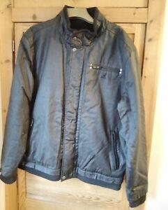 Mens Kangol Jacket XL Black