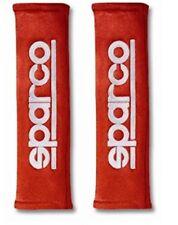Sparco Full Red Belt Shoulder Pad Alcantara Red Seat Belt Harness Pad
