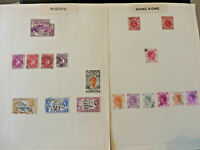 LOT 200+ VINTAGE POSTAGE STAMPS - Various Countries Worldwide - British Empire