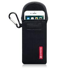 Shocksock Neoprene Pouch Sleeve Black Case For Apple iPhone 7 iPhone 8