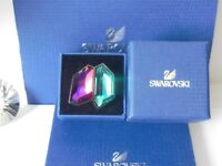 "GENUINE Swan Signed SWAROVSKI ""Rocket"" Ring  -  Size 52 - #1128042 - RRP £133"