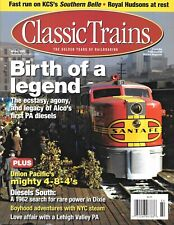 Classic Trains Winter 2008 Alco PA Diesels KCS Southern Belle NYC Steam Lehigh