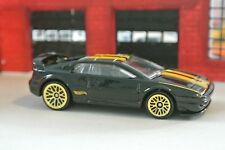 Hot Wheels Lotus Esprit - Black w/ Gold Rims - Loose - 1:64