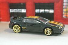 Hot Wheels Lotus Esprit - Black w/ Gold Rims - Loose - 1:64