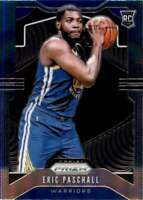 2019-20 Panini Prizm #279 ERIC PASCHALL  RC Rookie Golden State Warriors