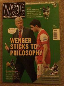 When Saturday Comes May 2011 #291 Brighton, Darlington, Sheff Utd, Stoke unread.