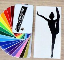 Ginnastica danza balletto Sticker Vinyl Decal Adesivo Murale Finestra LIBRO Laptop #3