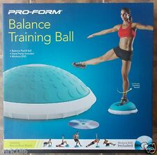 NEW Pro-Form Balance Training Ball Stability Core Abs + DVD and Hand Pump