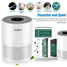 Air Purifier True Hepa Filter Air Cleaner Odor Allergies Eliminator Large Room