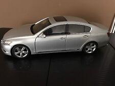 Lexus GS 430 2006 1:18 die cast model metallic silver - Autoart