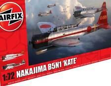 Airfix Nakajima B5N1 Kate Pearl Harbor Koku Sentai Kokutai 1:72 Bausatz kit NEU