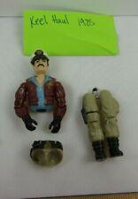 GI Joe action figure 1985 Keel Haul 3f ORIGINAL