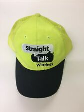 Straight Talk Wireless Phone WalMart Neon Yellow Hat  Trucker Hat Cap Strapback