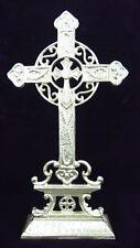 Stehkreuz Gold Golden KREUZ KRUZIFIX STANDKREUZ WEGEKREUZ Keltisches Kreuz